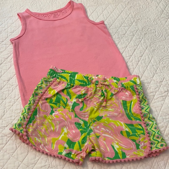 Cherokee Tank & Lilly Pulitzer for Target Shorts